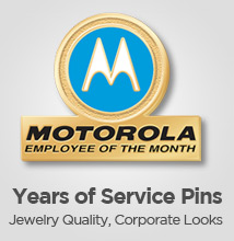 Employee Recognition & Service Lapel Pins